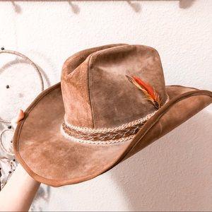 Vintage Stetson Billy Kid Boho Cowboy Western Hat